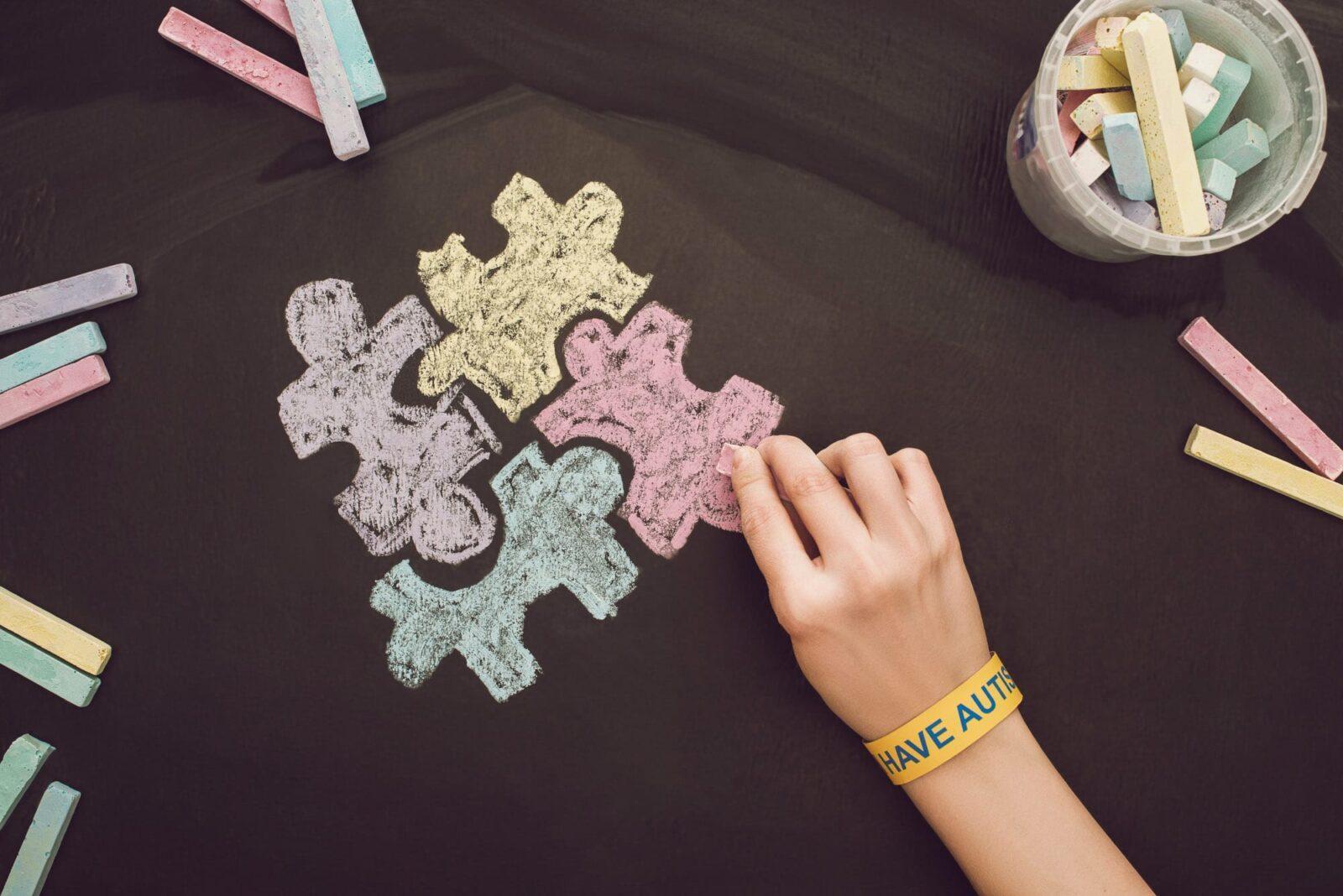 Autism jigsaw pieces